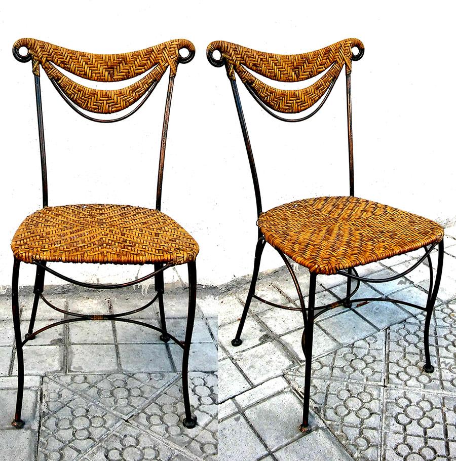 Sillas de mimbre top sillas de mimbre with sillas de for Sillas mimbre comedor