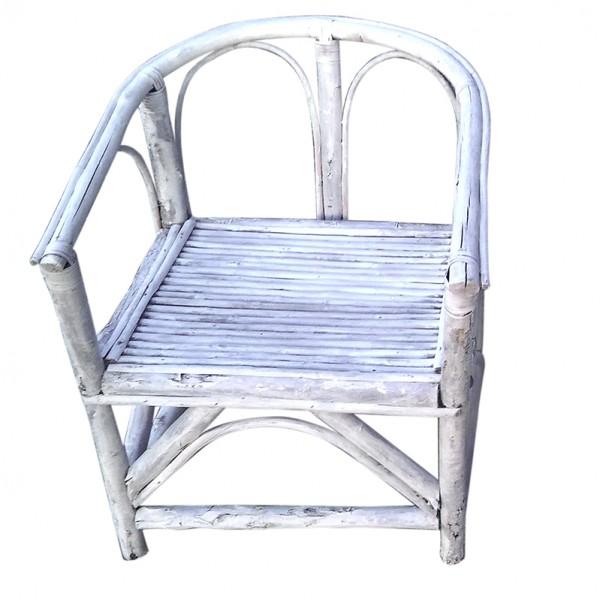 silla de madera recuperada