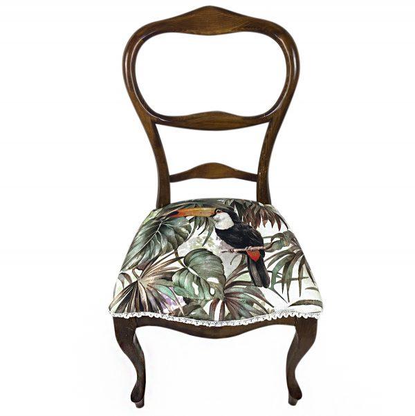 silla comedor tropical