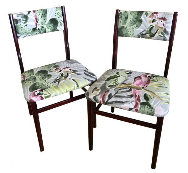 sillas tropicales años 70